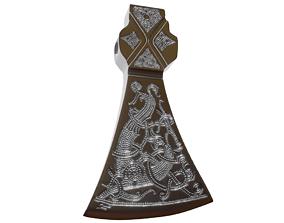 Mammen axe print model