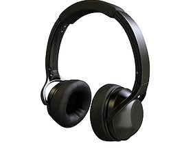 sound Headphones 3D model