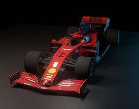 SF1000 F1 Car Ferrari 3D model