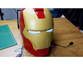 Voice control Iron Man mark3 3D printable model