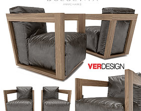 3D model Dolcevita Armchairs