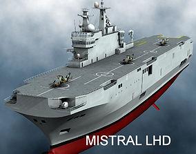 3D model Mistral LHD