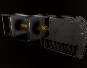 illustration Sci-Fi Industrial Asset 1 VR / AR ready