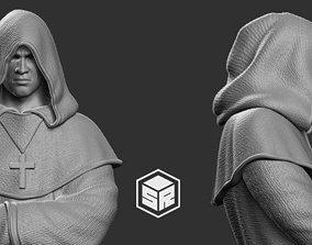 3D printable model Monk figure