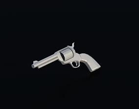 3D model Weapon Revolver 01