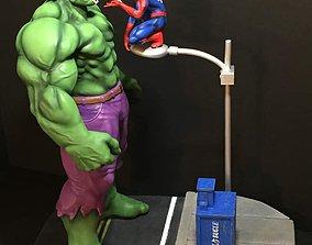 Fan Art - Hulk and Spider Man 3D printable model