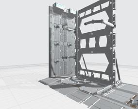 3D printable model -MHB04F2 - Mecha Hangar Bay 04 Hangar 2
