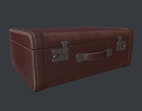 3D asset Leather Suitcase - Luggage - Leather Luggage - 2
