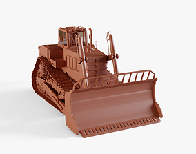 3D model Track Tractor