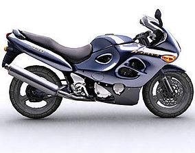 BIke Suzuki Katana 3D asset