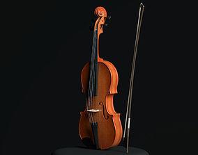 hobby 3D model Violin