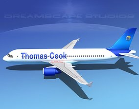 Airbus A320 LP Thomas Cook Airlines 3D asset
