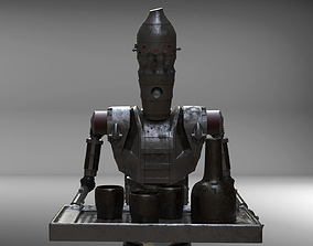 ig-11 inspired model from mandalorian character