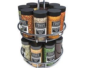 3D model Spice Jars spice