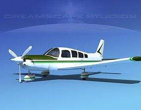 Piper Cherokee Six 300 V05 3D