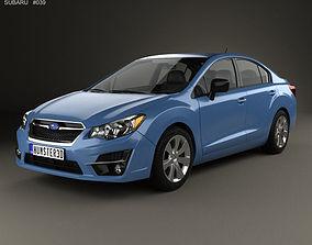 3D Subaru Impreza 2015