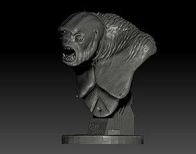 sculpture CAVE TROLL - METELER 3D