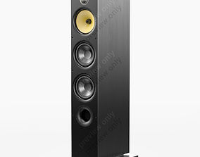 3D Bowers and Wilkins 683 S2 Black Ash