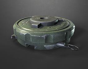 3D model Sci-fi landmine