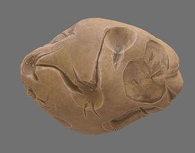 Asteroid cartoon 3D model