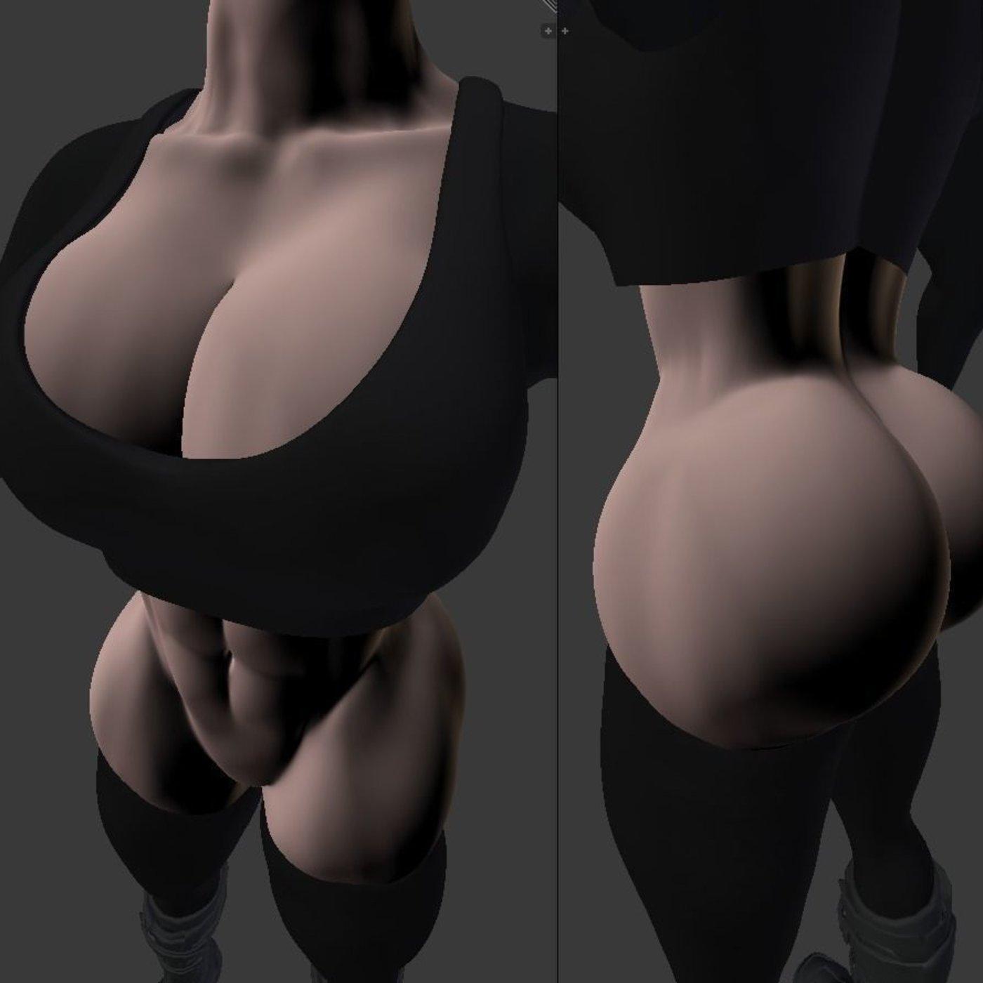 woman sexy body