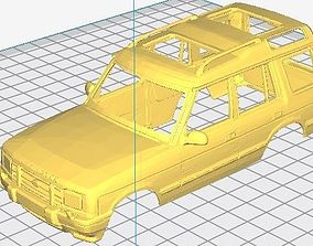 dakar Land Rover Discovery 200 Printable Body Car
