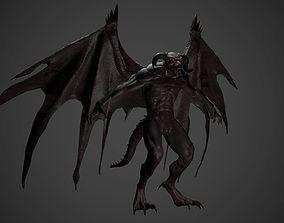 Gargoyle 3D model game-ready