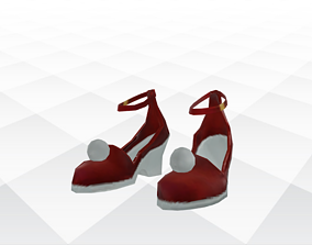 3D asset VR / AR ready Shoes Sandals and Slippers