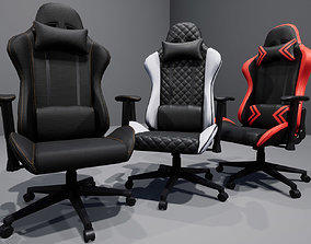 3D model VR / AR ready Gaming Chair