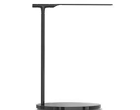 Black Desk Lamp 3D Model desk