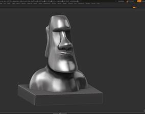 moai Moai 3d Print Model