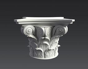Corinthian Capital 3D model