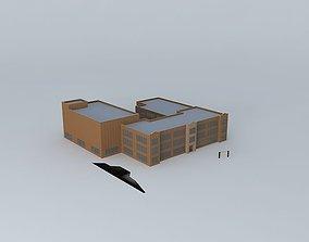 George Washington High School 3D