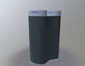 3D asset Utrecht Rabobank