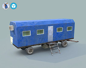 3D asset game-ready Storeroom 01