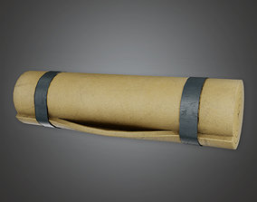 Military Barracks Bed Roll - MLT - PBR Game Ready 3D model
