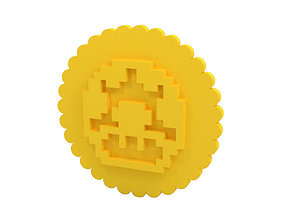cutter 3D printable model Cookie stamp - Stamp