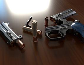 bond Pistol 3D model