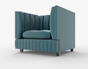 3D Fancy Arm Chair