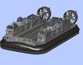 Japan Maritime Self-Defense Force Hovercraft LCAC 3D