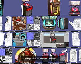 Vintage Jukebox Collection 3D