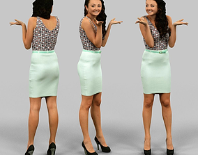 3D asset Female choosing