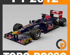 F1 2012 Scuderia Toro Rosso STR7 3D model