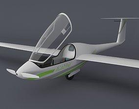 Alisport - Silent 2 electro - sailplane - glider - with 3D