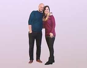 3D model No103 - Couple Standing