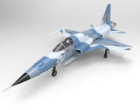 3D model F5 E Tiger II for Unity