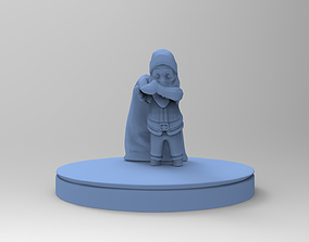 christmas Santa Claus brings gifts 3D printable model