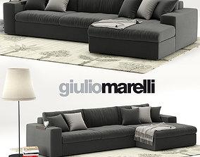 3D model Giulio Marelli Epika 3-x sofa