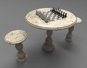 3D model Chess set PBR