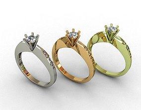 Diamond Ring 3D print model 3D print model